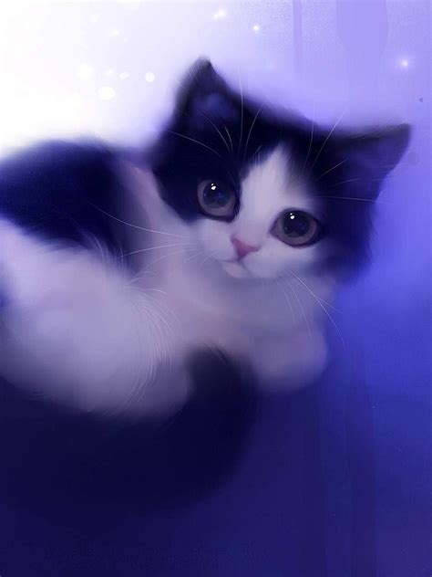 Anime Kitten Wallpaper - animated cats wallpaper