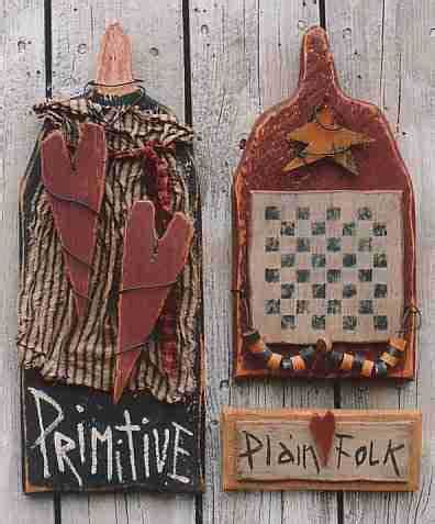 primitive crafts wall hanging