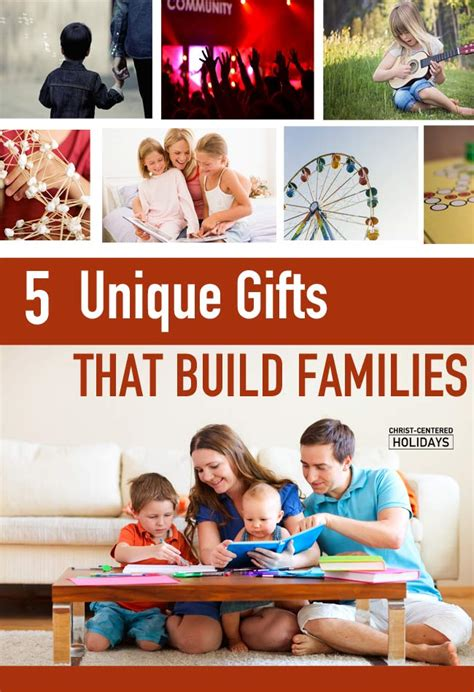 5 unique gifts for families christ centered holidays