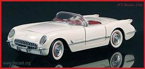 1953 Corvette Roadster 1 24 Scale By The Franklin Mint