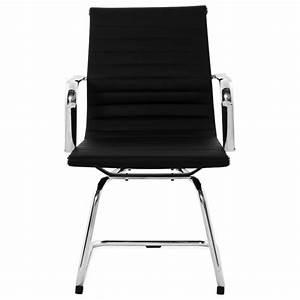 Fauteuil Cuir Noir : fauteuil de bureau courol en simili cuir noir ~ Melissatoandfro.com Idées de Décoration