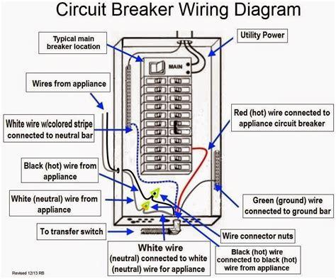 Electrical Engineering World Circuit Breaker Wiring Diagram