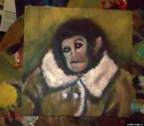Jesus Fresco Meme - ikeas homonkulus ikea monkey painting channels botched fresco jesus photo huffpost