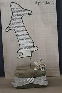 Tuto Bricolage Bois : diy d co r cup p ques fil de fer bois et vieux papier st phanie bricole ~ Melissatoandfro.com Idées de Décoration