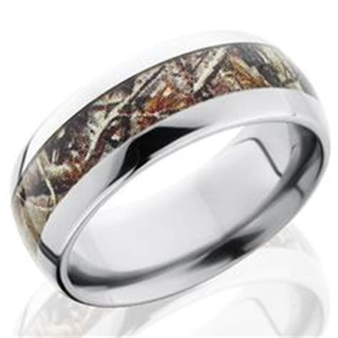 fable designs titanium half round 4mm groove real tree