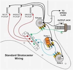 Strat Pickup Wiring Diagram