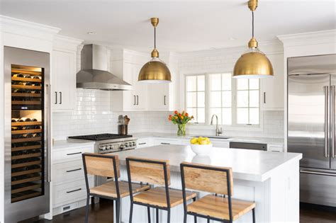 timeless white kitchen   canaan transitional