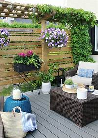 patio decor ideas Outdoor Living - Summer Patio Decorating Ideas - Clean and Scentsible