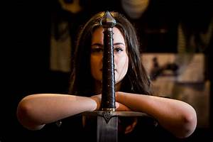 Meet Charis Fleming – bladesmith and The Knight's Vault ...