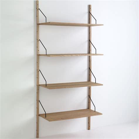 libreria parete libreria da parete selfy in legno mdf 4 ripiani 85 x 180 cm
