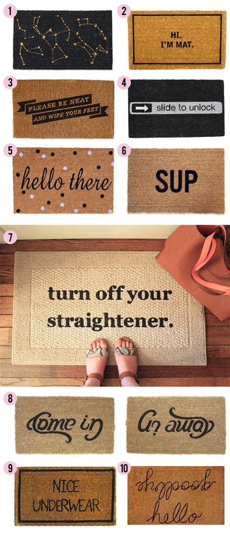 Creative Doormats by Knock Knock 15 Clever Doormats At Home In