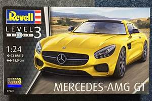 Revell Mercedes-AMG GT - Osideはプラモデルを作りたい