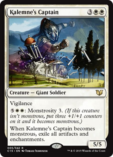 Artifact Commander Deck 2015 by Commander 2015 Cards Magic The Gathering