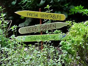Herb Garden Sign: Toads Welcome - Crafts by Amanda
