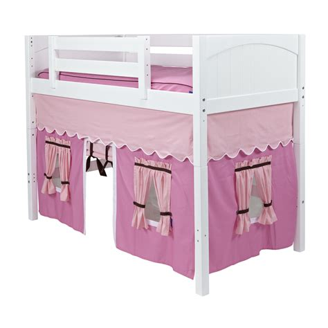 pictures of loft beds maxtrix curtain colors