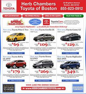 Herb Chambers Toyota of Boston Toyota Dealers Boston
