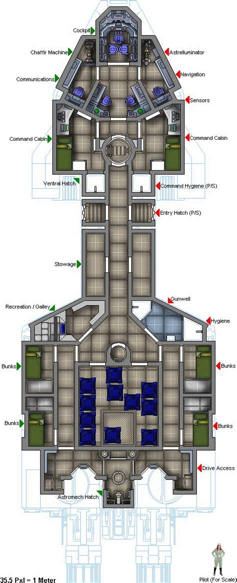 17 best images about deckplans starship on pinterest