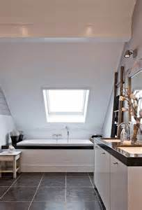 Slanted Ceiling Lighting by Sloped Bathroom Ceiling Transitional Bathroom Mi Casa