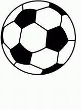 Printable Soccer Coloring Balls Popular sketch template