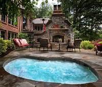 good looking spa patio design ideas The Best Backyard Hot Tub Ideas For Your Fun Backyard ...