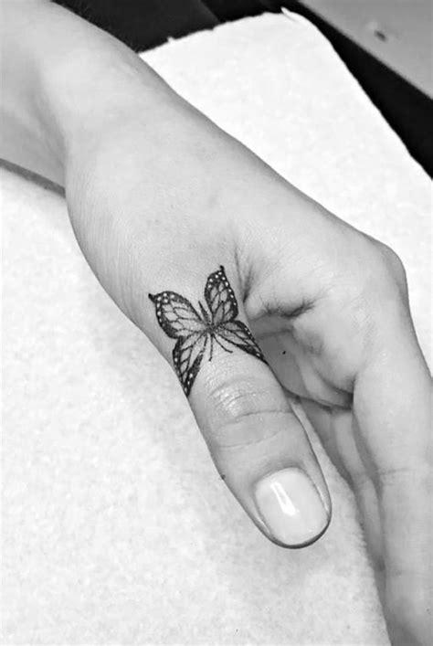 Finger Butterfly Tattoo | Odd Stuff Magazine