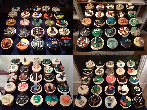 100 Cupcakes For 100 Games #leganerd Fun Ideas For Company Christmas Parties Party Dresses Edinburgh Kids Church Black And White Theme In Cardiff Clever Invitations
