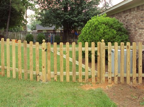 wood fence anniston al  fence place