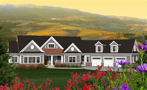 mountain ranch  bonus   garage ah architectural designs house plans