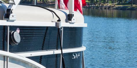 Pontoon Boat Flags by Pontoon Boat Rod Holder Fender Flag Pole Tables Grills