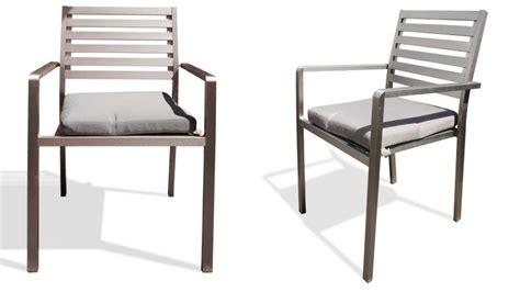 Chaise De Jardin En Aluminium  Irwan  Mobilier Moss