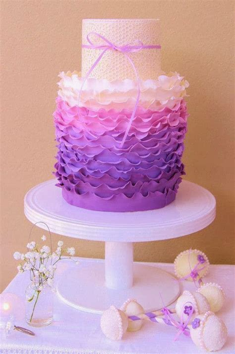 Beautiful Ombre Cake  Ee  Ideas Ee   For All Occasions Crafty Morning