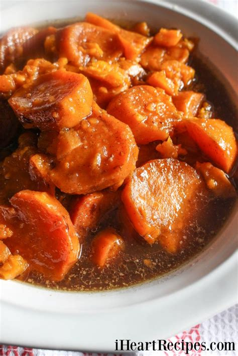 recipes for yams slow cooker candied yams