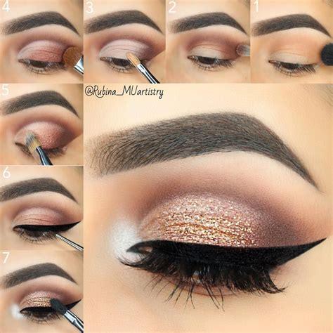 easy step  step eyes makeup tutorials sassy lady