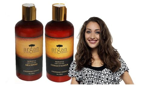 Moroccan Argan Hair Oil Shampoo + Conditioner (uv Damage
