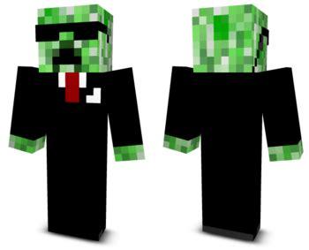 creeper agent  minecraft skins
