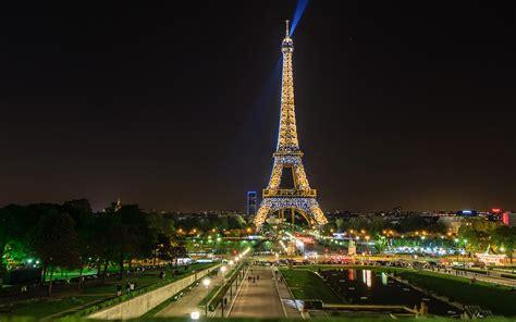 Fondos De Pantalla 3840x2400 Francia Noche París Torre