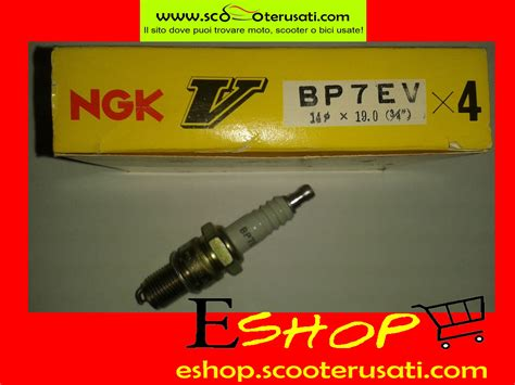 costo candele auto kit n 176 4 candela accensione spark ngk bp7ev per