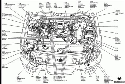 Ford Engine Diagram Automotive Parts