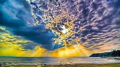Sunny 4k Beach Desktop Wallpapers Sky Holiday
