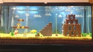 mario bros aquarium diy project is one you ll definitely want to make