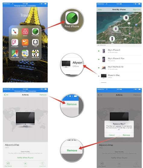 removal for iphone how to remove an iphone or mac from find my iphone