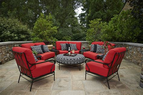 meadowcraft patio furniture covers meadowcraft cove wrought iron 42 inch ottoman 3142380 01