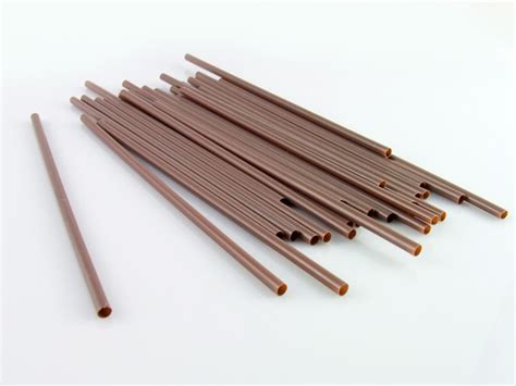 Enjoy fast delivery, best quality and cheap price. China Coffee Stirrer Driking Straws with 4*160mm Braonw ...