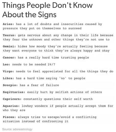 sign someone up for cat facts things don t about the 12 zodiac signs cancer