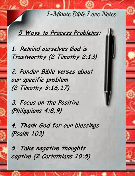 5 Ways to Process Problems