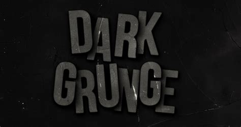 dark grunge psd text effect photoshop text effects pixeden