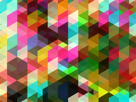 Abstract Shape Background by Colorful Shapes Background Vector Graphics