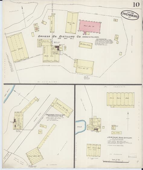 Drew cunningham ins agency inc. Map, Available Online, Sanborn Fire Insurance Map from Owensboro, Daviess County, Kentucky ...