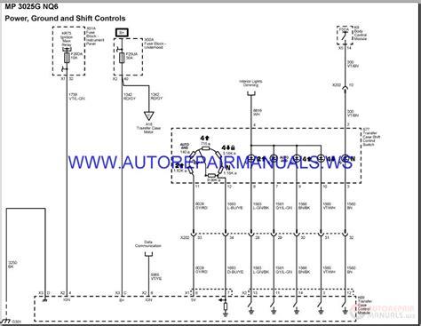 chevrolet colorado engine  wiring diagram manual
