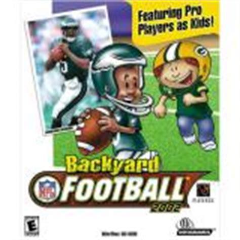 Backyard Football Team Names by Backyard Football 2002 Pc Ign